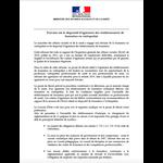 Communiqué de Presse - Travaux sur le dispositif d'agrément des établissements de formation en ostéopathie