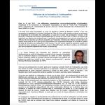 Communiqué de presse - Réforme de la formation à l'ostéopathie : L'Unité Pour l'Ostéopathie s'étonne